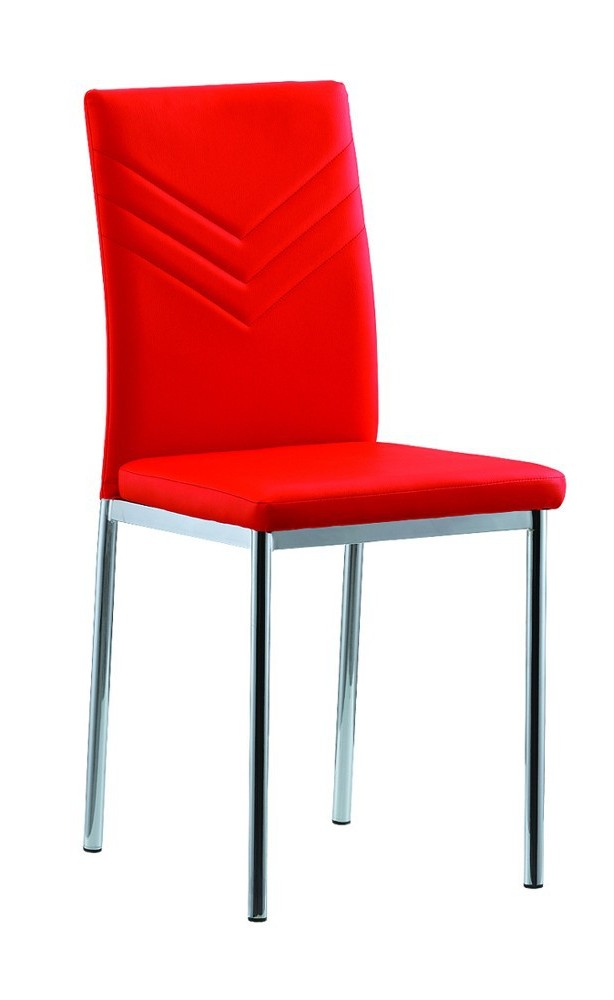 Chaise Salle A Manger Rouge Pas Cher
