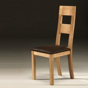 Chaise moderne blanc et bois chaise id es de d coration de maison w0bbrw - Chaise salle a manger bois ...