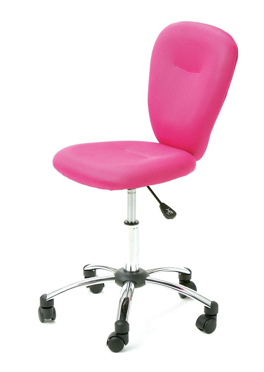 Conforama Chaise De Bureau Rose