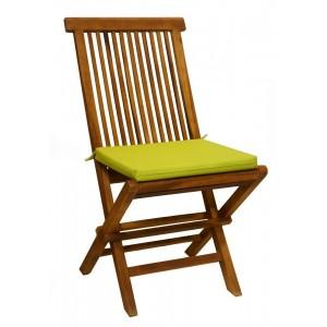 Coussin dehoussable chaise jardin chaise id es de - Coussin pour chaise en teck ...