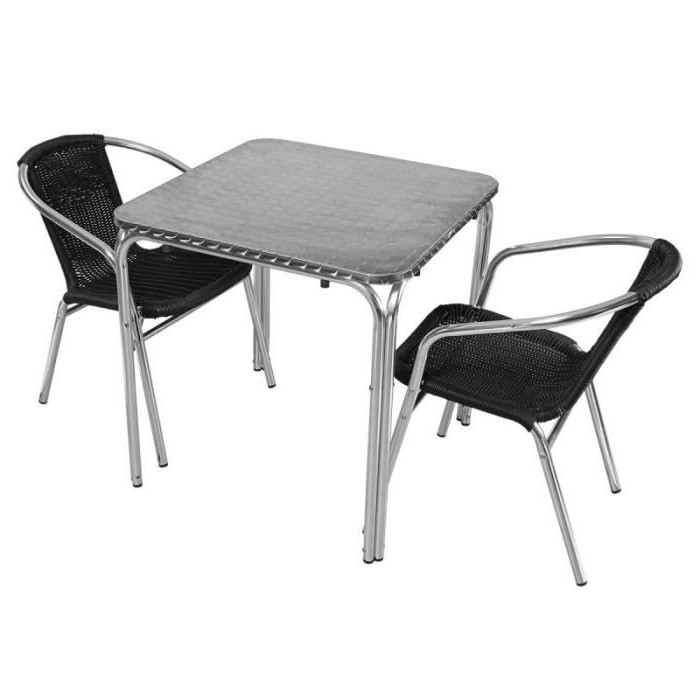Ensemble Table Et Chaise De Bistrot