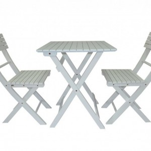 Ensemble Table Et Chaise De Jardin Pliable