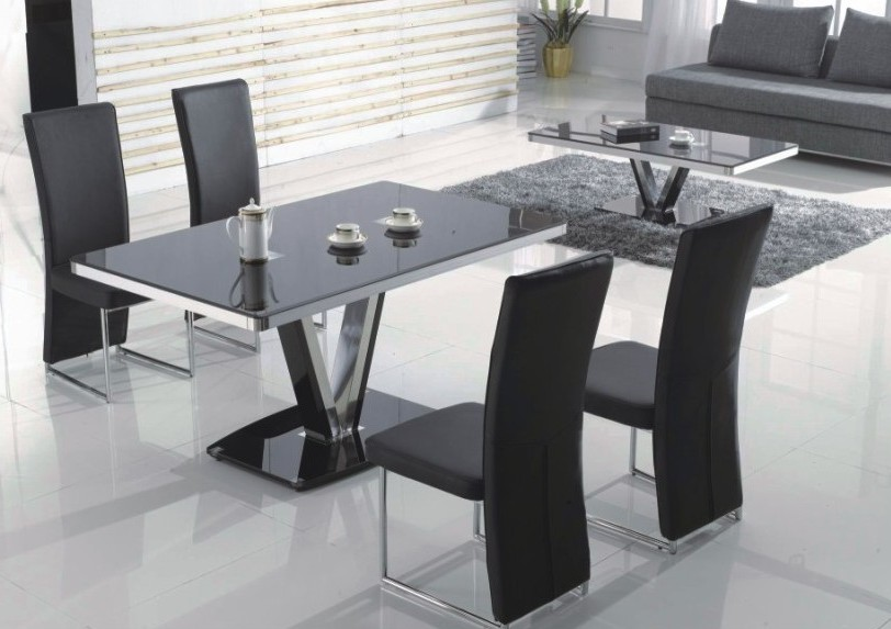 Ensemble table et chaises design pas cher chaise id es for Ensemble table et chaise blanc laque pas cher