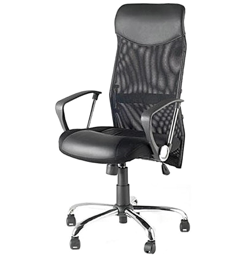 Fauteuil de bureau design et confortable chaise id es for Chaise confortable