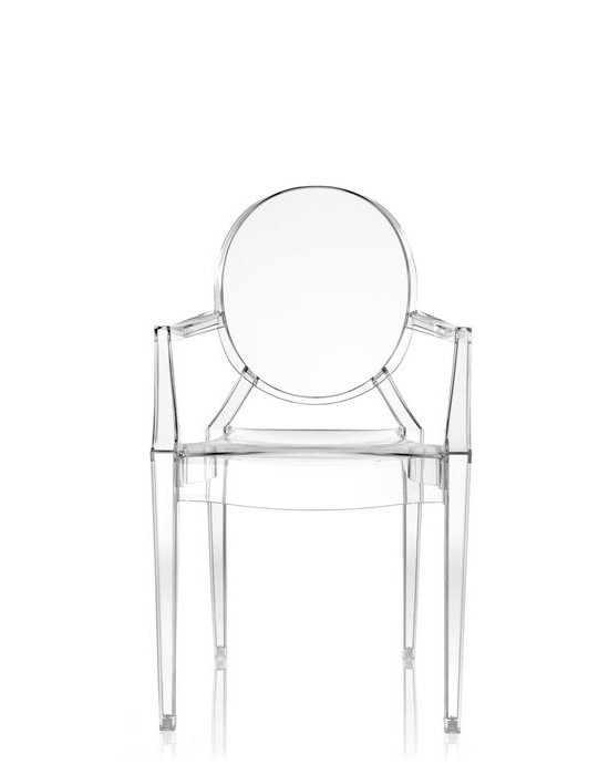 Fauteuil Louis Ghost De Philippe Starck