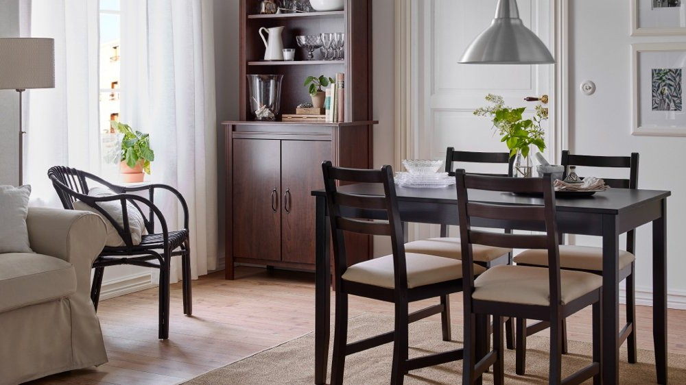 chaises de salle a manger ikea maison design. Black Bedroom Furniture Sets. Home Design Ideas
