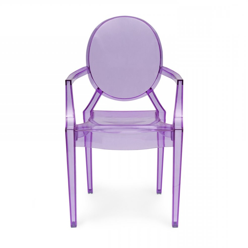 La Chaise Louis Ghost De Philippe Starck
