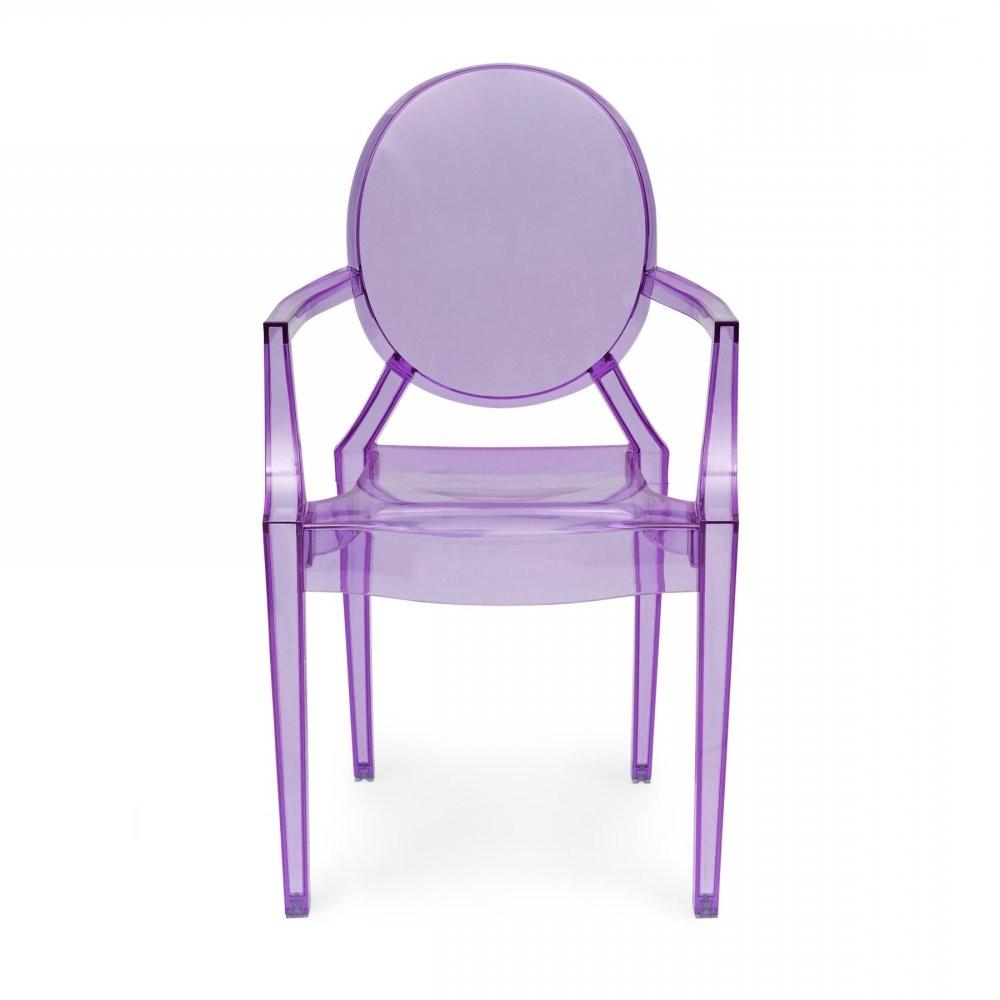 La Chaise Louis Ghost De Philippe Starck