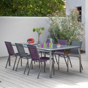 Soldes table et chaises de jardin chaise id es de Soldes decoration jardin