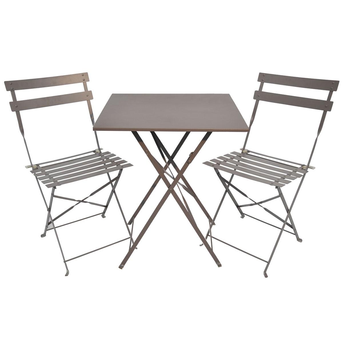 Table Chaise Jardin Pliante