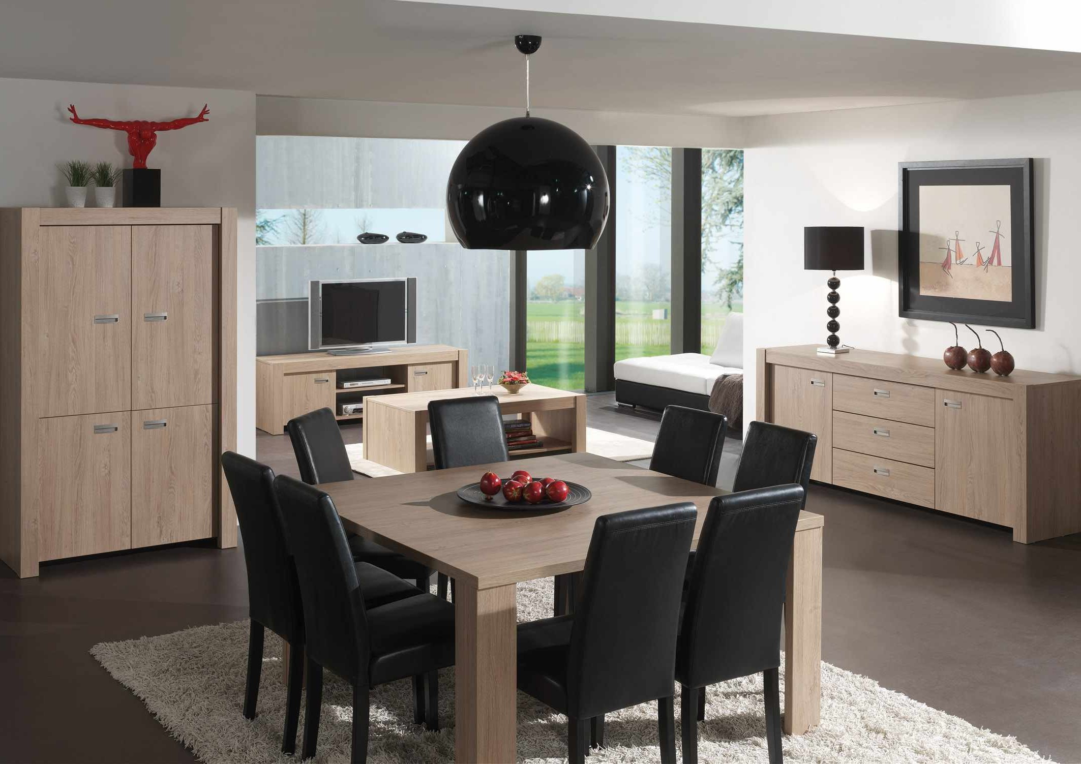 table chaise salle a manger pas cher with chaise salle a. Black Bedroom Furniture Sets. Home Design Ideas