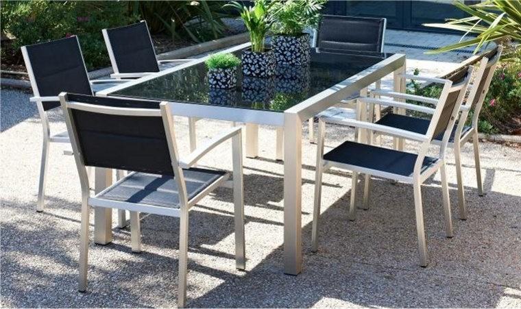Table Et Chaise De Jardin Design Pas Cher