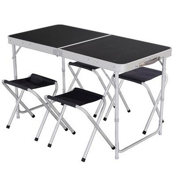 Table et chaise pliante camping pas cher chaise id es - Table pliante avec chaises integrees ...