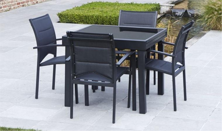 Table Et Chaises De Jardin Soldes