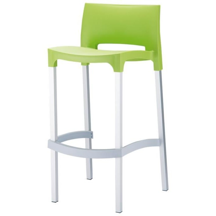 tabouret de bar alinea tabouret de bar bleu avec pieds en. Black Bedroom Furniture Sets. Home Design Ideas