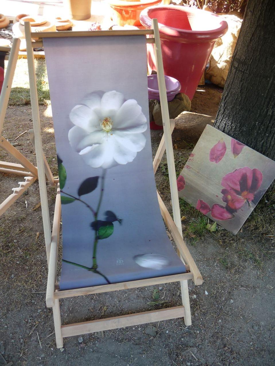 Toile Chaise Longue Paris