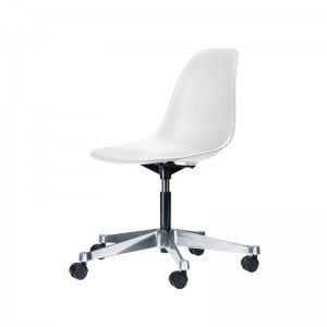 Chaise design blanche fly chaise id es de d coration for Chaise de bureau blanche