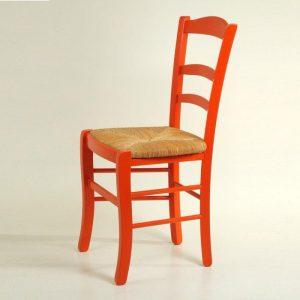 Chaise De Cuisine En Bois Rouge