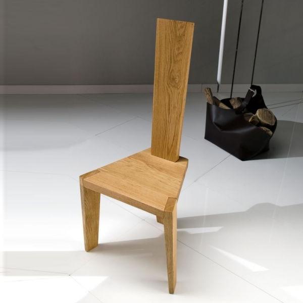 Chaise En Chene Massif