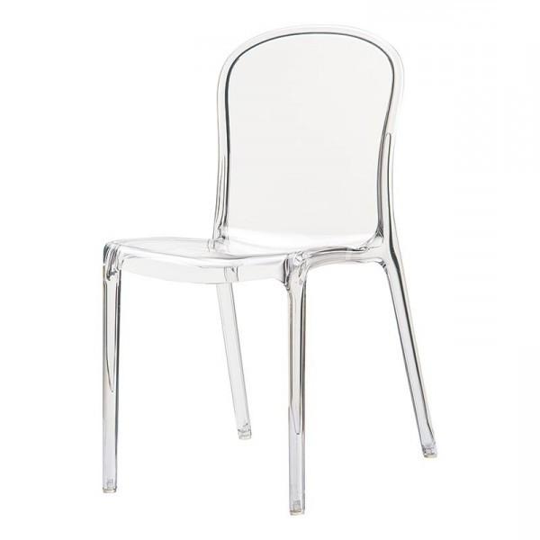 Chaise En Plexiglas Transparent