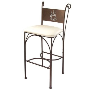 Chaise haute de bar confortable chaise id es de - Chaise de cuisine confortable ...