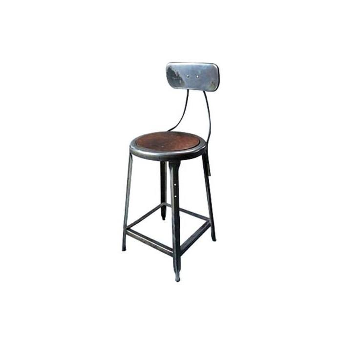 Chaise Haute Style Industriel