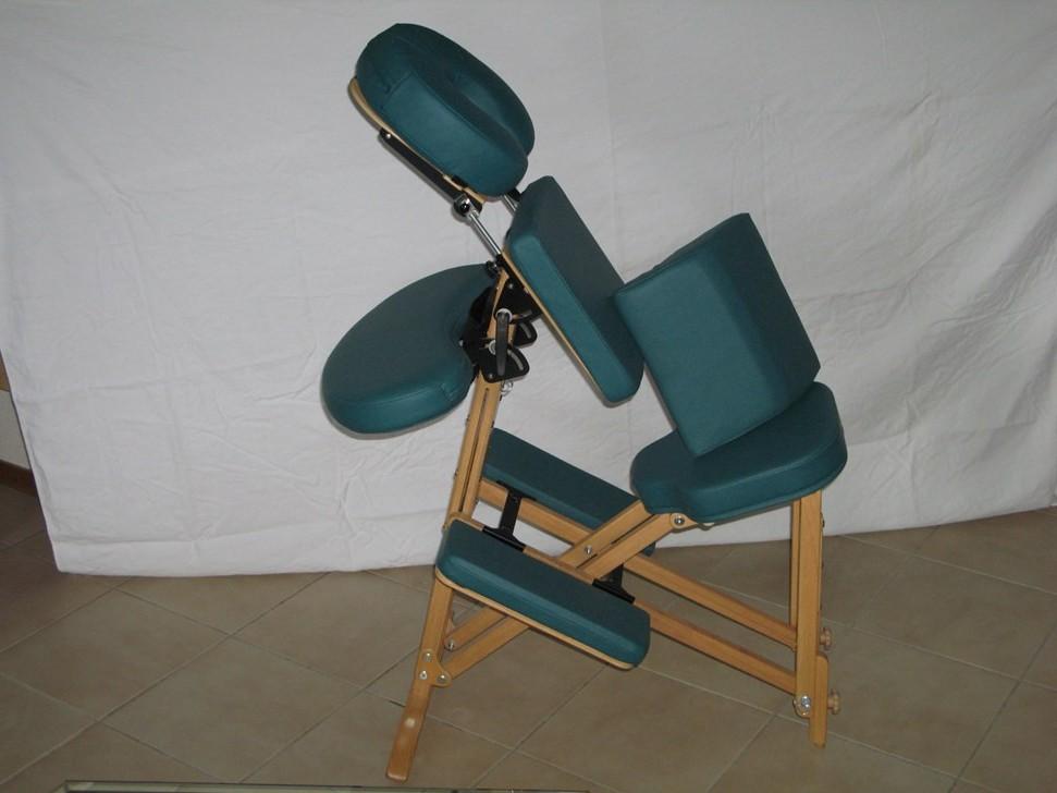Chaise Massage Assis Bois