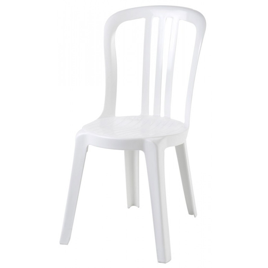 Chaise miami bistrot blanc chaise id es de d coration for Chaise de bistrot blanche