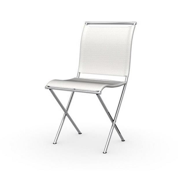 Chaise pliante design blanche chaise id es de for Chaise pliante design