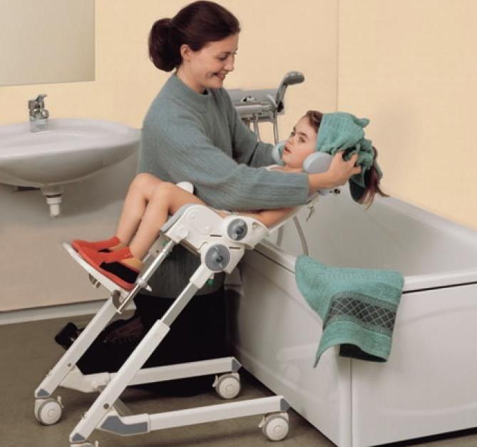 Chaise Pour Douche Bebe