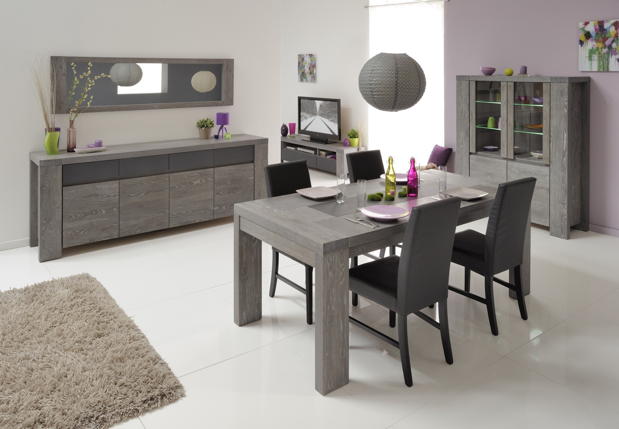 table salle a manger design conforama good gallery of. Black Bedroom Furniture Sets. Home Design Ideas