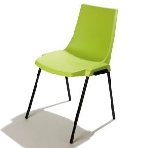 Chaise coque plastique pied bois chaise id es de d coration de maison 6k - Chaises coques occasion ...