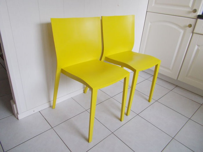 Chaises Philippe Starck Slick Slick