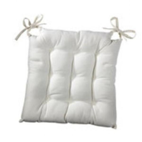 Carreau De Chaise Blanc