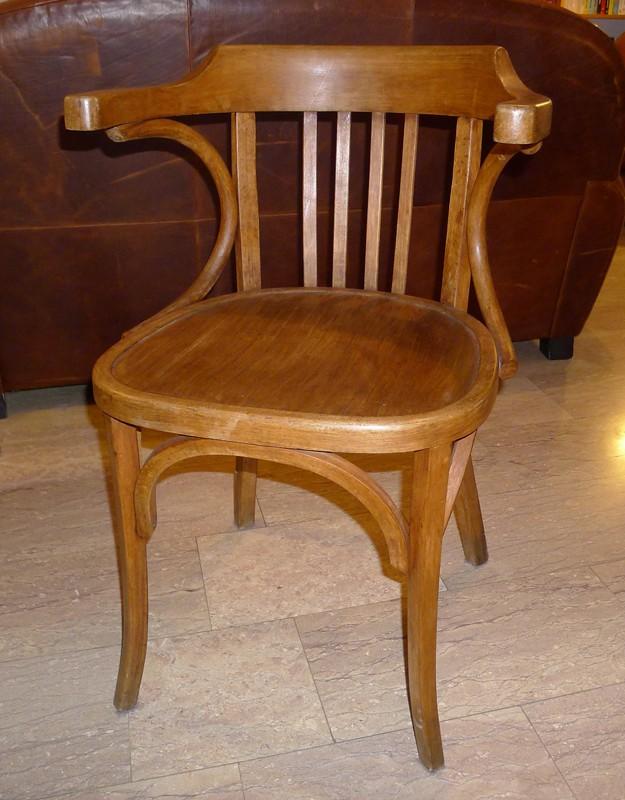 Chaise de bureau ancienne chaise de bureau vintage par - Chaise bistrot ancienne baumann ...