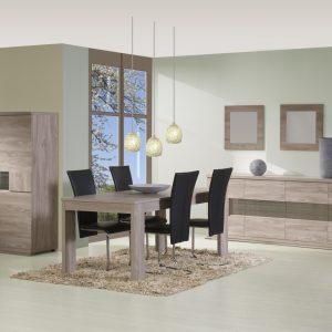 Chaise salle a manger blanche et bois chaise id es de - Chaise blanche conforama ...