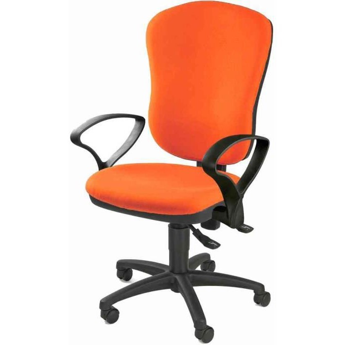 chaise bureau orange fly chaise id es de d coration de