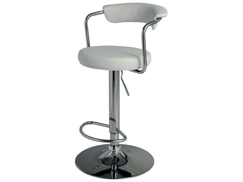 Top chaise de bar grise conforama with conforama chaise de bar for Chaise blanche conforama