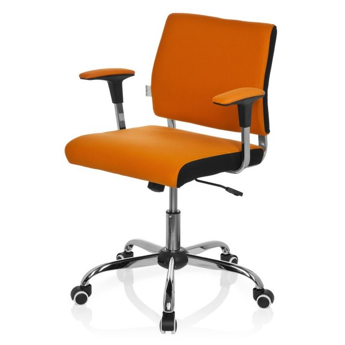 Chaise De Bureau Orange Design