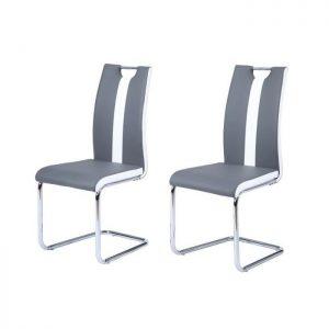 Mod le de cuisine blanche et grise cuisine id es de for Chaise blanche et grise