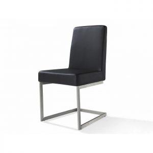 Chaise salle a manger simili cuir noir chaise id es de for Chaise de salle a manger en cuir noir
