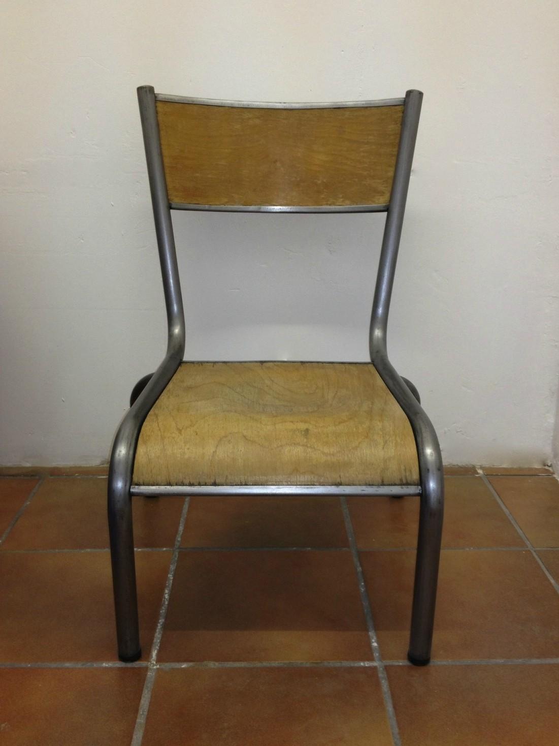 Chaise D'ecole Ancienne