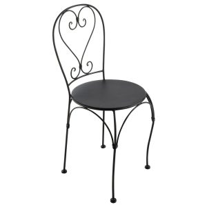 Chaise en fer forge chaise id es de d coration de - Poubelle exterieur castorama ...