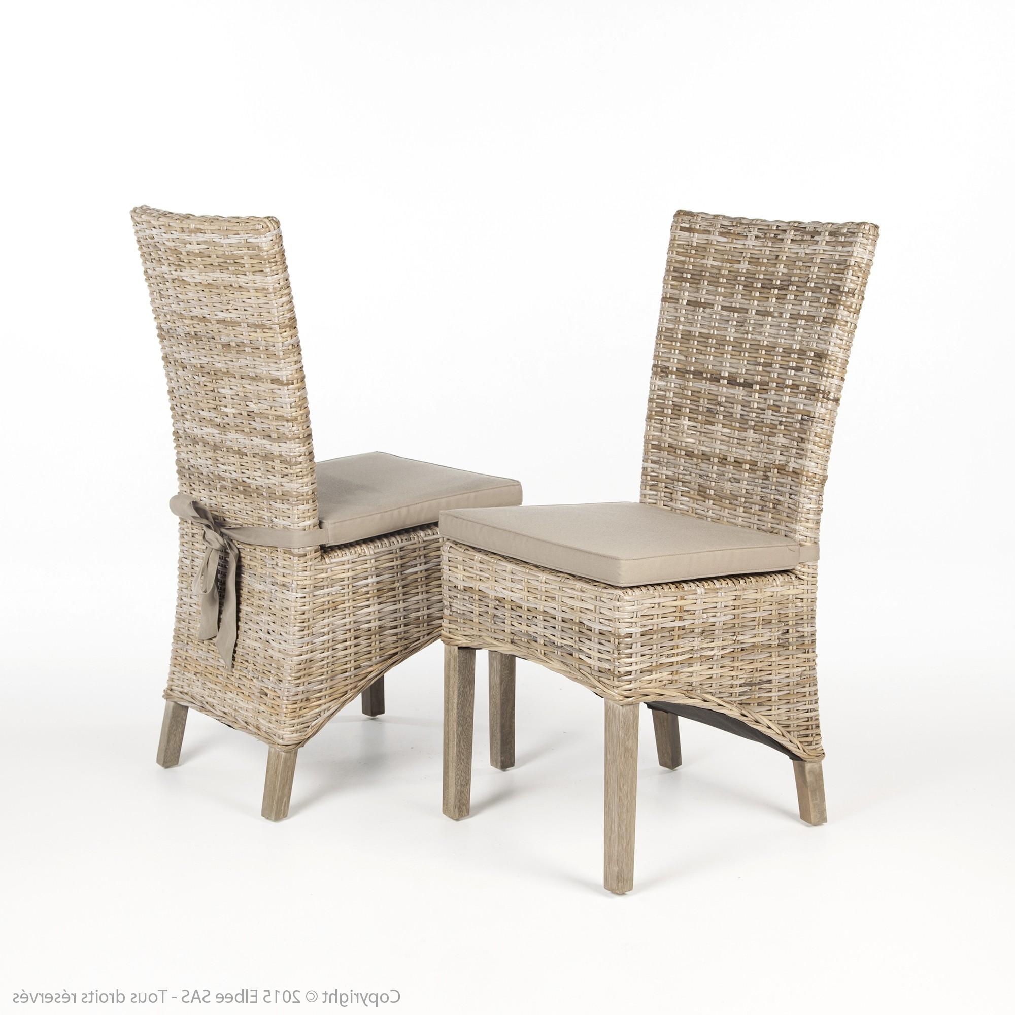 Chaise en kubu tresse conceptions de maison for Chaise en rotin kubu