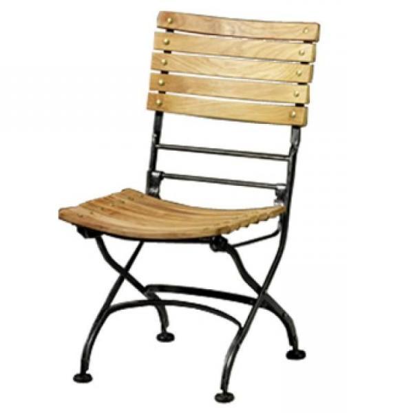 Chaise fer et bois pliante chaise id es de d coration for Chaise bois pliante