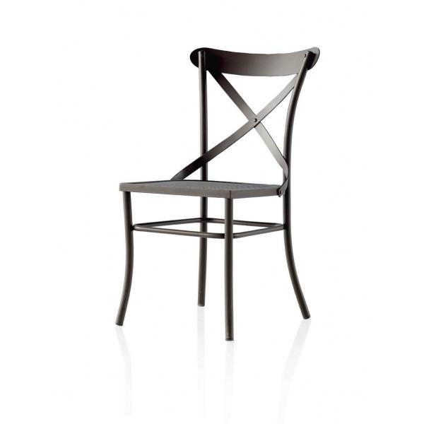 Chaise fer forg bois chaise id es de d coration de - Chaise fer et bois ...