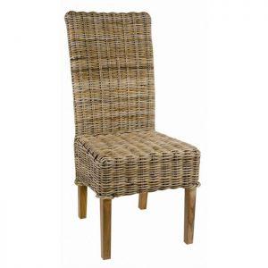 Chaise en kubu la redoute chaise id es de d coration - Chaise kubu gris ...