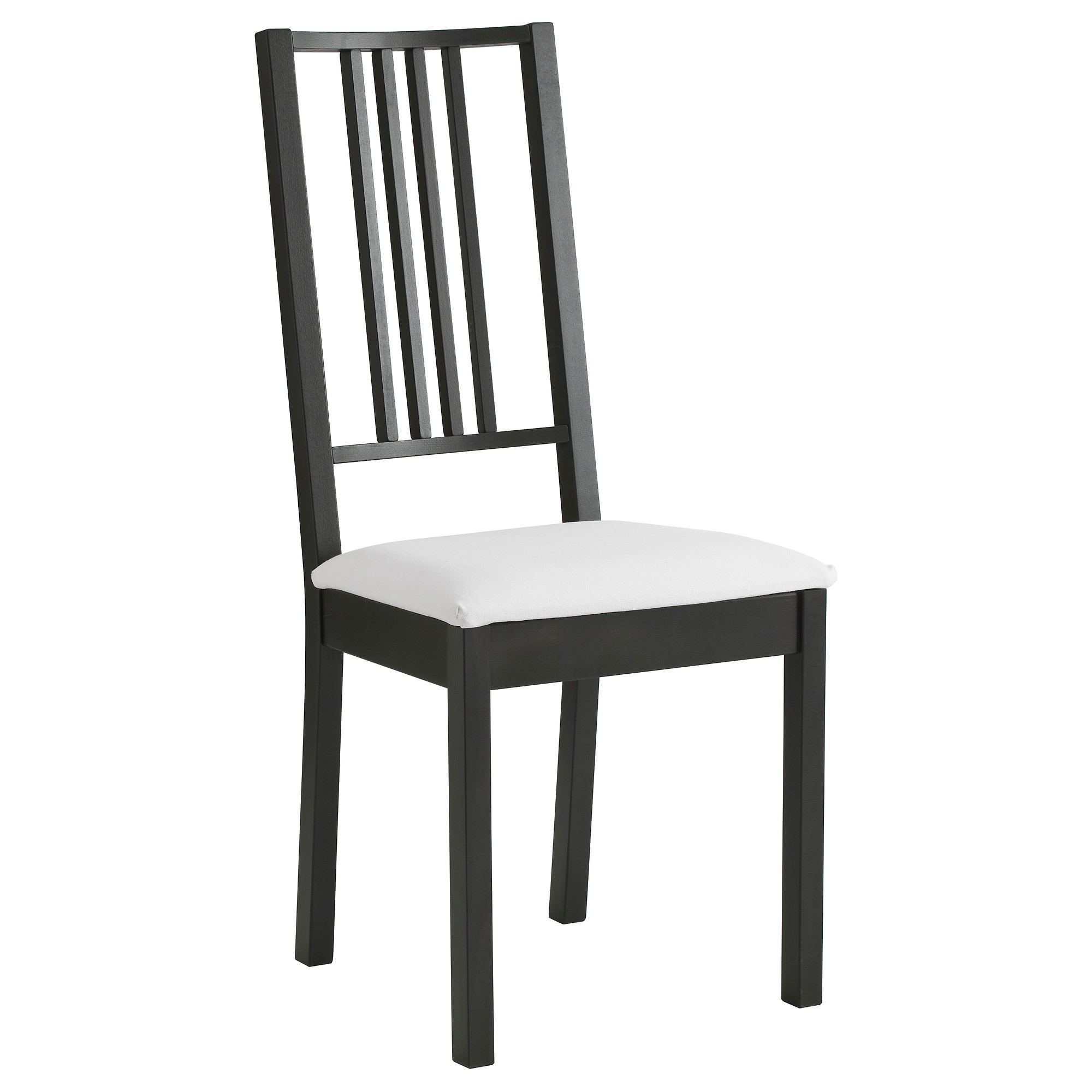 Chaise ikea noir et blanc chaise id es de d coration for Chaise noir blanc