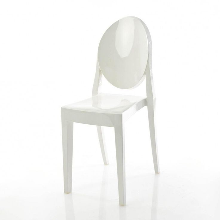 Chaise Kartell Ghost Blanc