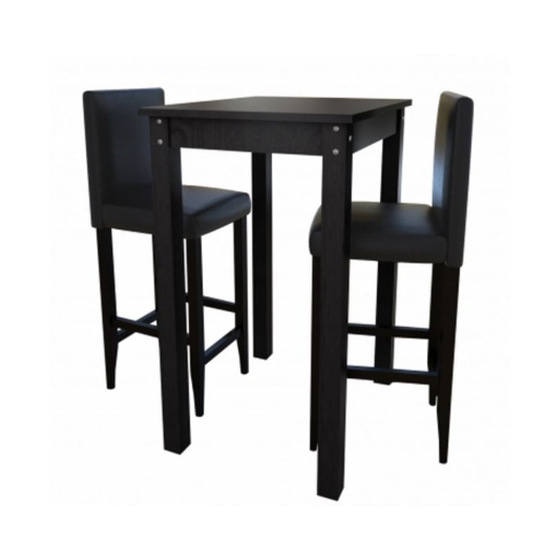 Table mange debout alinea lot de tabourets de bar avec for Table haute cuisine mange debout